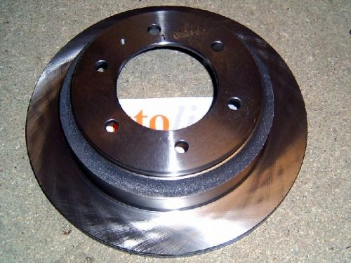Brake disc (rear), Trooper 3.0/3.1 TD, 3.2/3.5 V6